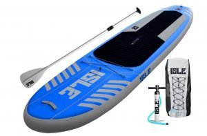 Isle Airtech 10 ft Inflatable Stand Up Paddleboard