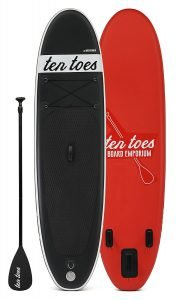 Ten Toes Weekender 10 ft Inflatable Stand Up Paddleboard Review